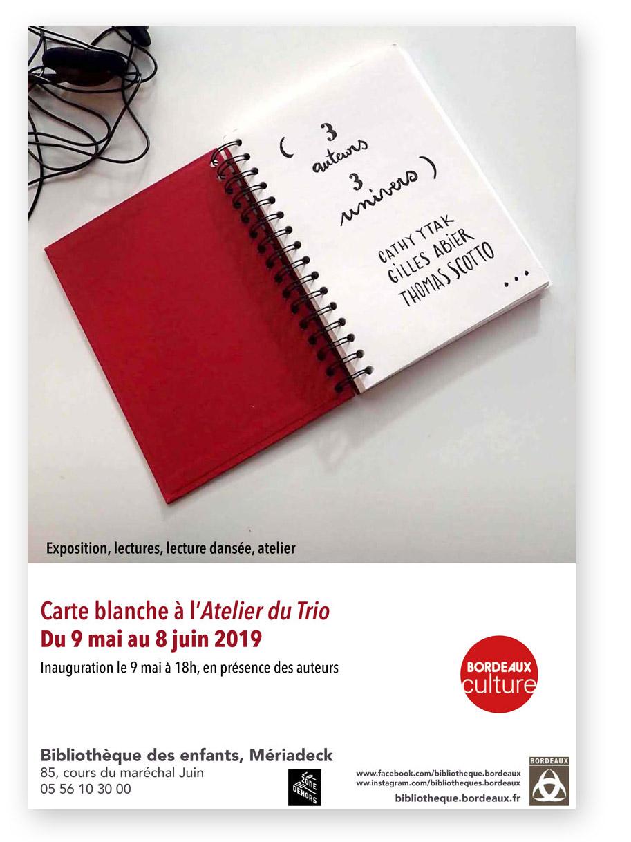 Carte Bibliotheque Bordeaux.Mai 2019 Thomas Scotto
