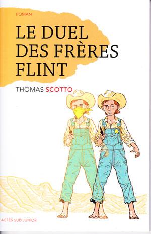 couverture livre Le duel des frères Flint