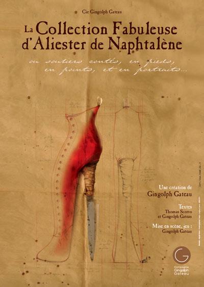 La Collection Fabuleuse d'Aliester de Naphtalène spectacle